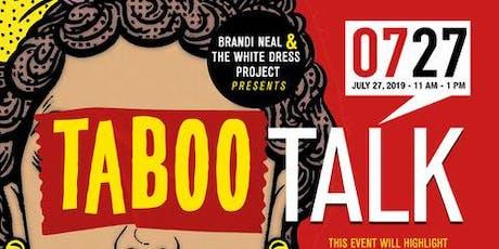 Taboo Talk: Battling Fibroids, Endometriosis & PCOS 2019 tickets