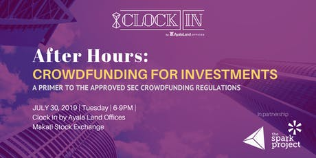 After Hours: Crowdfunding for Investments tickets