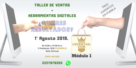 COMO VENDER EN LA ERA DIGITAL Módulo 1 tickets