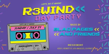 R3WIND DAY PARTY (LOS ANGELES) tickets