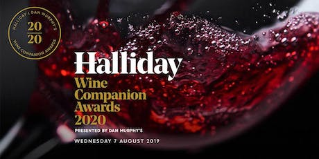 2020 Halliday Wine Companion Awards Presented By Dan Murphy's tickets