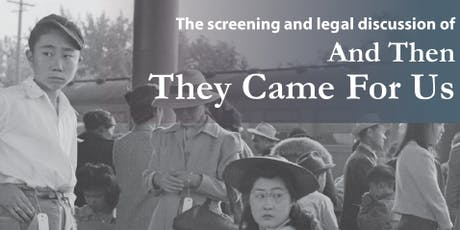 PALSD Presents - And Then They Came For Us: Stop Repeating History  tickets
