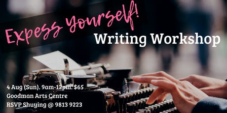 Express Yourself! Writing Workshop tickets