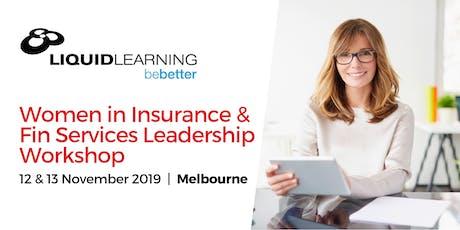 Women in Insurance & Fin Services Leadership Workshop tickets