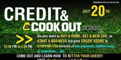 Credit & Cook Out