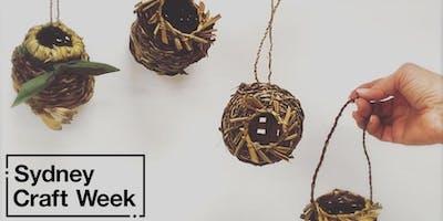 Weaving Circle Workshop - Sydney Craft Week 2019