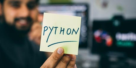 An Introduction to Python (Day 1) tickets