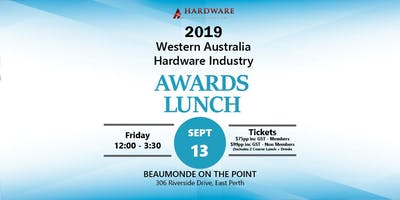 2019 Western Australia Hardware Industry Awards Luncheon