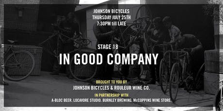 Stage 18 at Johnson Bicycles tickets