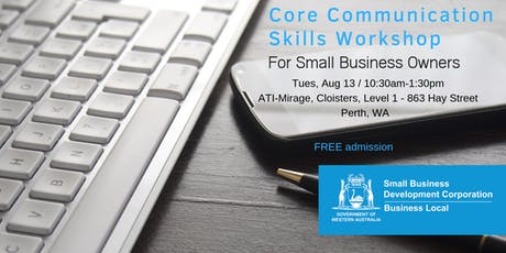 Core Communication Skills for Small Business Owners  tickets