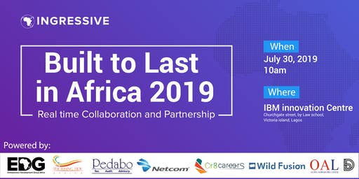 Built to Last in Africa - Real time Collaboration and Partnership