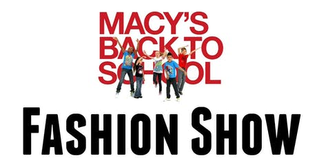 Macy's Back to School Fashion Show tickets