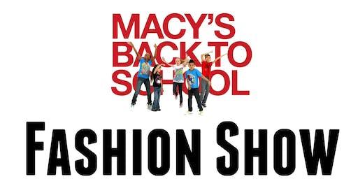 Macy's Back to School Fashion Show