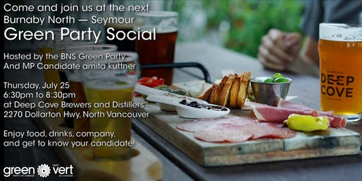 Burnaby North - Seymour Green Party Social