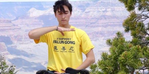 Rustgevende meditatielessen 'Falun Dafa' - Sint-Niklaas