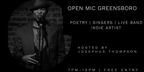 Open Mic Greensboro @ElmStreetLounge | Live Band | Free Entry tickets