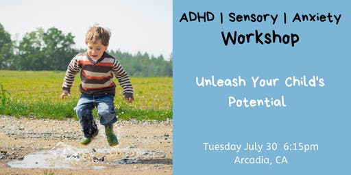 Anxiety, ADHD, and Sensory Processing Workshop