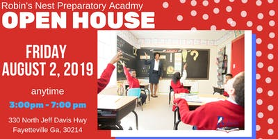 OPEN HOUSE : Robin's Nest Preparatory Academy