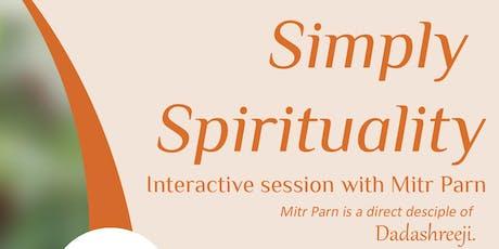 Simply Spirituality tickets
