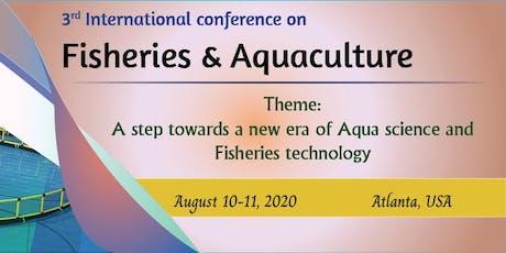 Fisheries & Aquaculture-2020 tickets