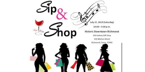 Historic Downtown Richmond Sip & Shop
