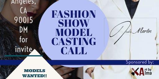 FASION SHOW MODEL CALL