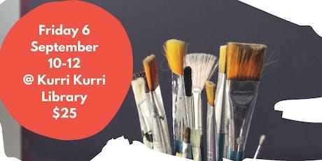 Art Workshop: Beginning A Landscape - Traditional (Kurri Kurri Library) tickets