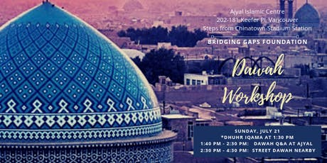 Dawah in Vancouver tickets