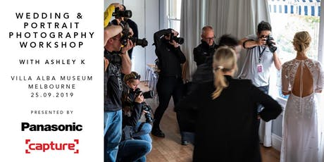 Wedding & Portrait Photography Workshop with Capture and Panasonic (VIC) tickets
