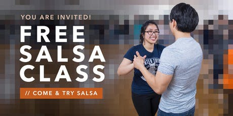 FREE Come'n'Try Salsa Class for Men and Women tickets