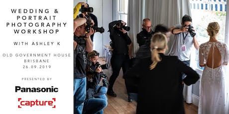 Wedding & Portrait Photography Workshop with Capture and Panasonic (QLD) tickets