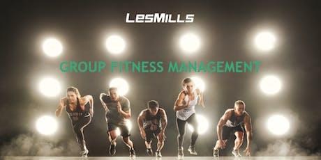 Les Mills Group Fitness Management Seminar WA tickets