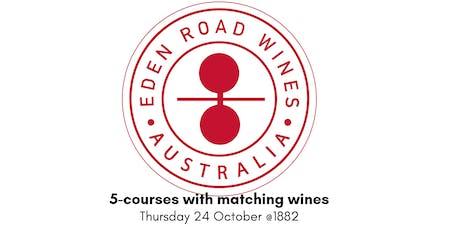 Eden Road Wine Dinner tickets