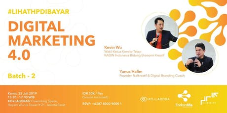 DIGITAL MARKETING 4.0 tickets