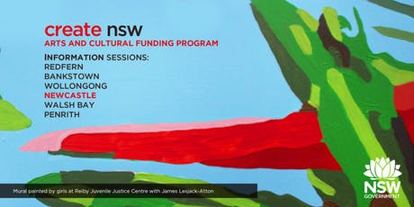 Create NSW Arts and Cultural Funding Program Information Session tickets
