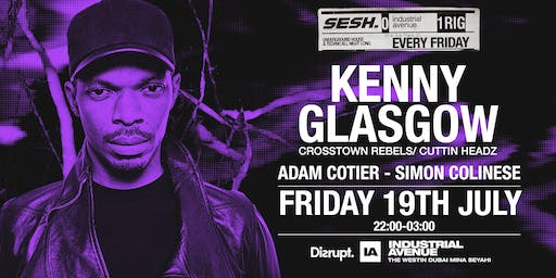 Sesh. presents Kenny Glasgow at Industrial Avenue