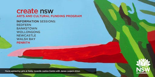 Create NSW Arts and Cultural Funding Program Information Session