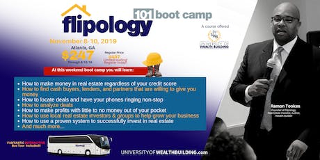 Flipology 101: The Boot Camp with Ramon Tookes November tickets