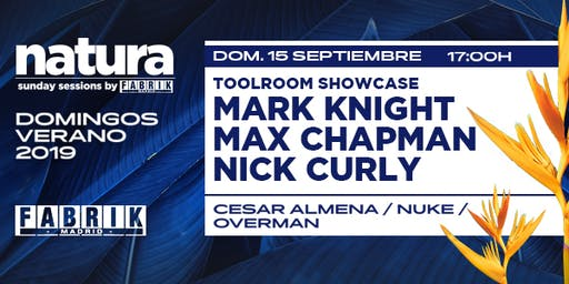 Natura Sunday con Toolroom en Fabrik