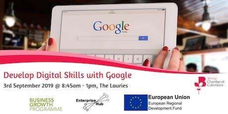 Develop Digital Skills with Google tickets
