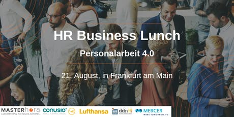 HR-Business-Lunch: Personalarbeit 4.0 Tickets