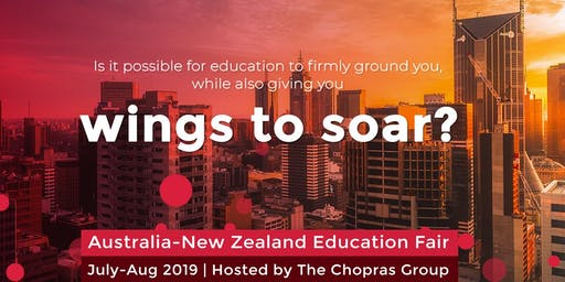 Australia & New Zealand Global Ed Fair 2019 in Jaipur