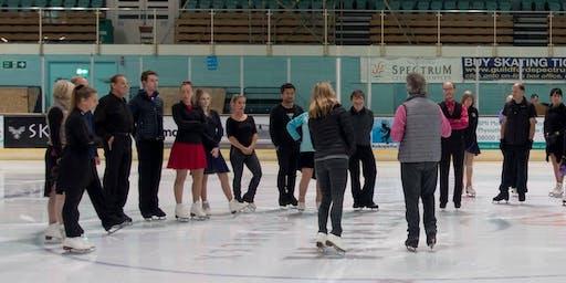 Ice Dance Rhythmic Warmup and Social Dance Session