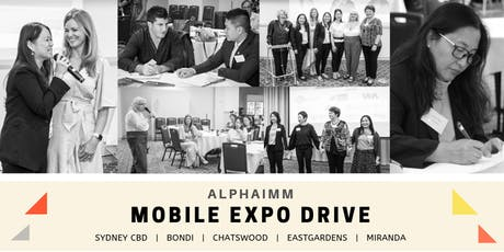 AlphaIMM Mobile Expo Drive tickets