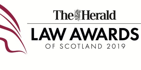 The Herald Law Awards of Scotland  tickets