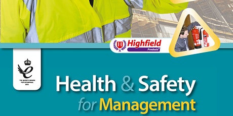 Highfield Level 4 Award in Health and Safety in the Workplace (RQF) tickets
