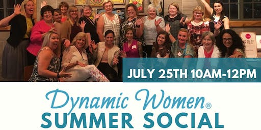Dynamic Women BRANTFORD Summer Social! Toast & Mingle with other Lady Bosses!