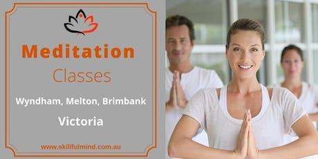 4 Week Beginners Mindfulness Meditation Offer tickets