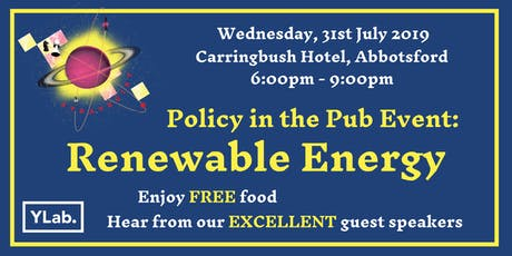 Policy in the Pub: Renewable Energy tickets