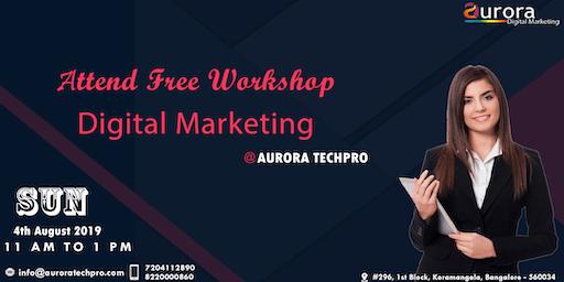FREE DIGITAL MARKETING WORKSHOP - How to generate money online?